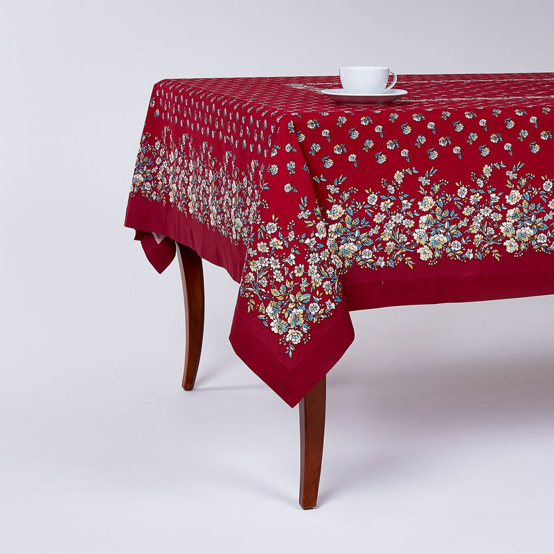 French Flowers Tablecloth