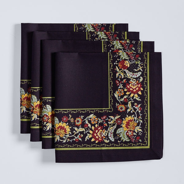 Marseille Print Napkins - Set of 4