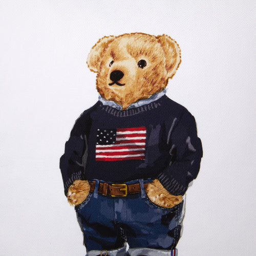 Zierkissenbezug Flag Sweater Bear