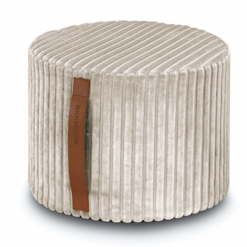 Cylinder shaped pouf Coomba