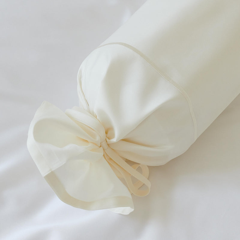Bed linen Satin SMS Kordel, neck roll cover