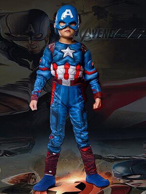 Costume Cosplay Marvel Captain America