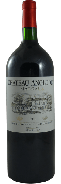 Château Angludet Cru Bourgeois Margaux 2014 magnums