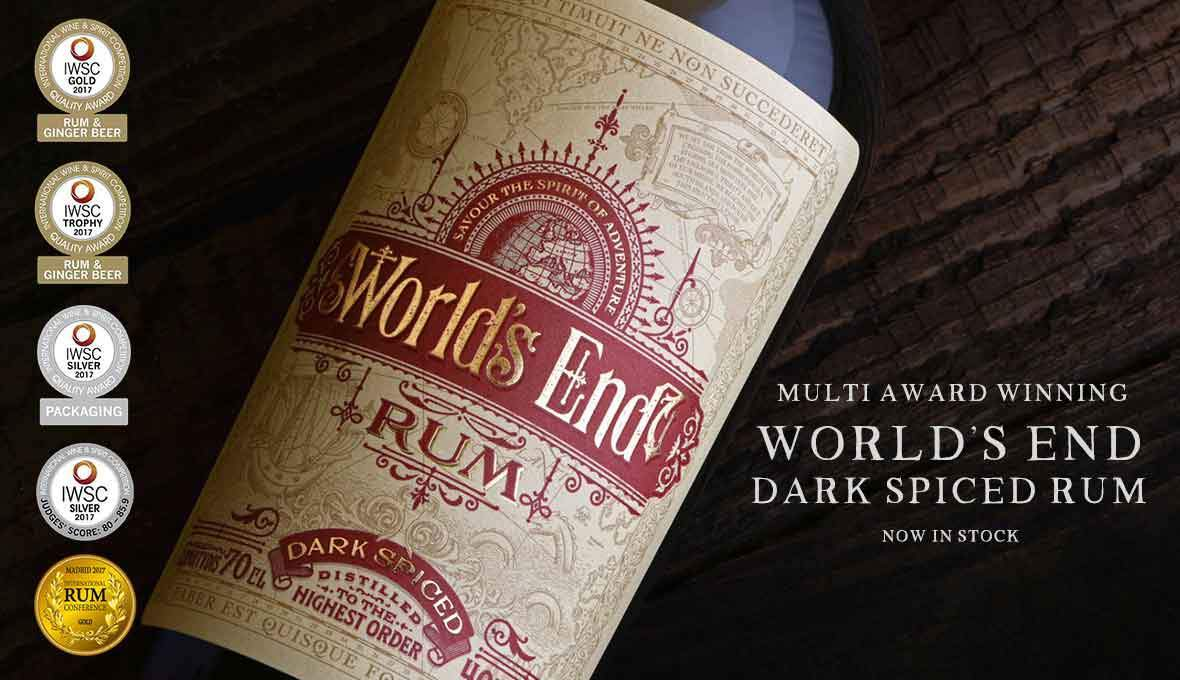 World's End Dark Spiced Rum