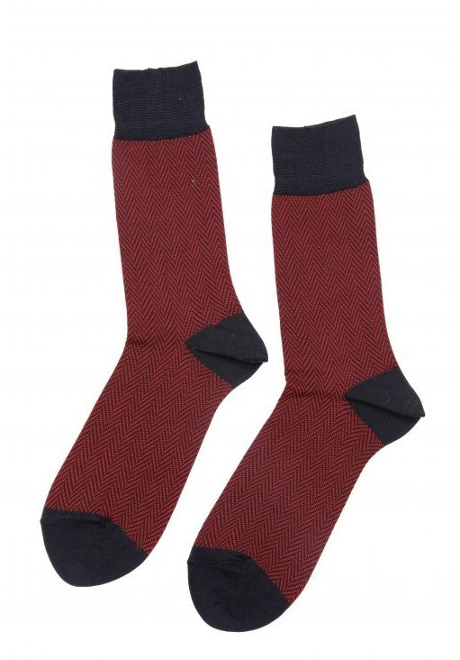 Red suit socks