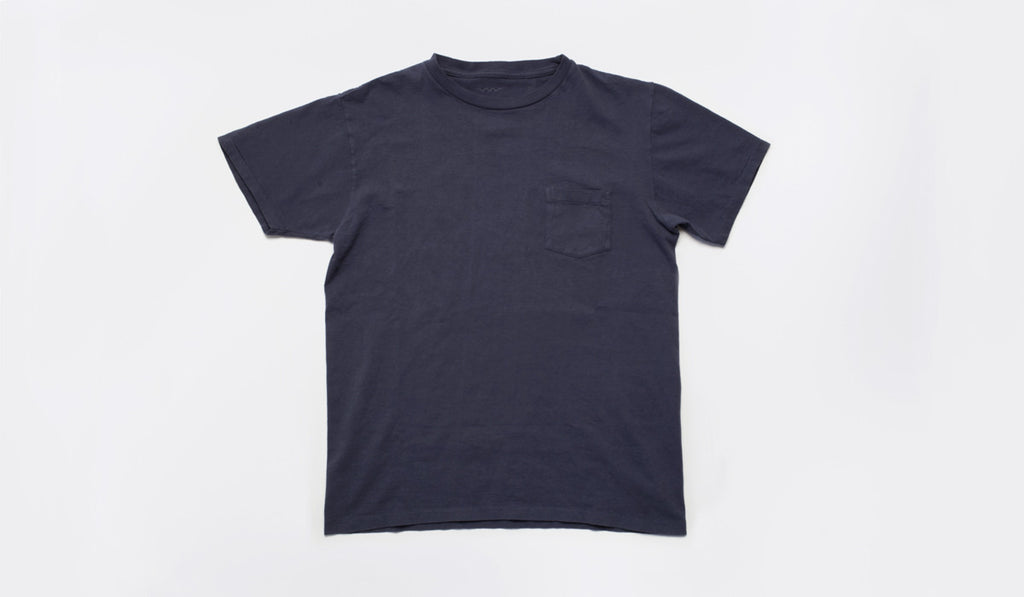 Timothy Pocket Tee: Navy