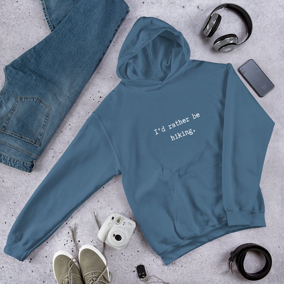 Rather Be Hiking Hoodie