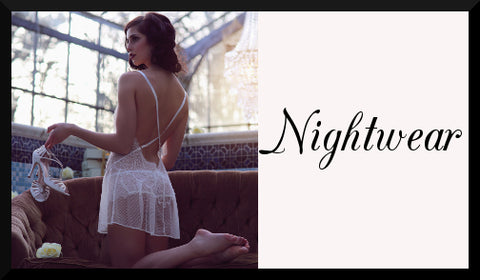 Shop Luxury Lingerie - Nightwear