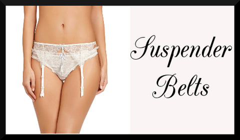 Shop Luxury Lingerie - Suspender Belts