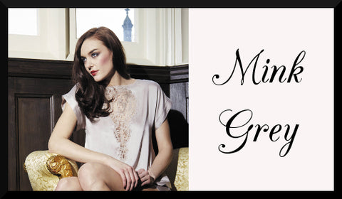 Shop Mink Grey Luxury Lingerie