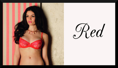 Shop Red Luxury Lingerie