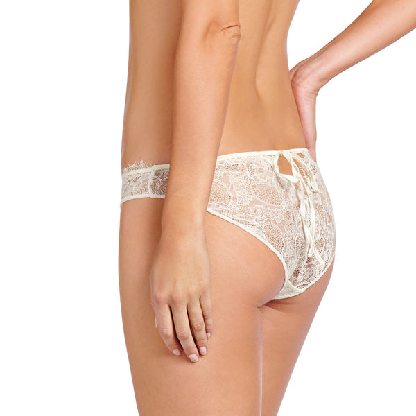 Heidi Klum Intimates Lingerie Valerie Brief in Retro Cream back
