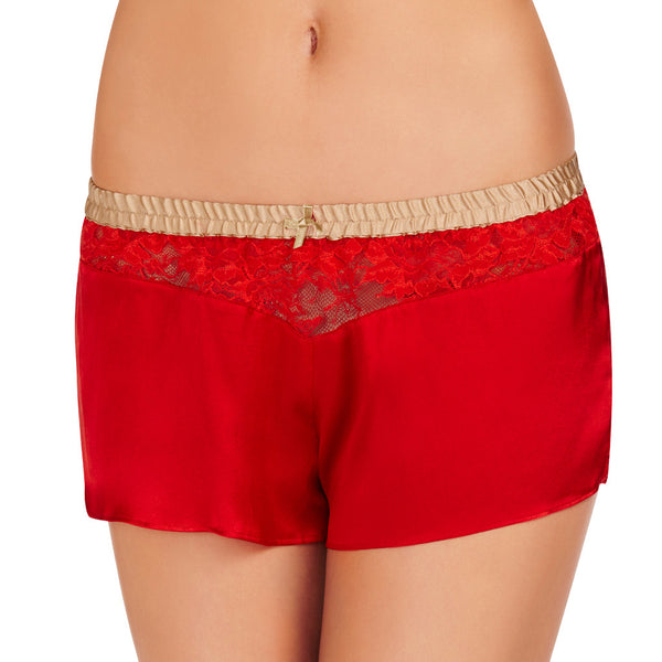 Heat Wave French knickers in red from Heidi Klum Intimates Lingerie Front