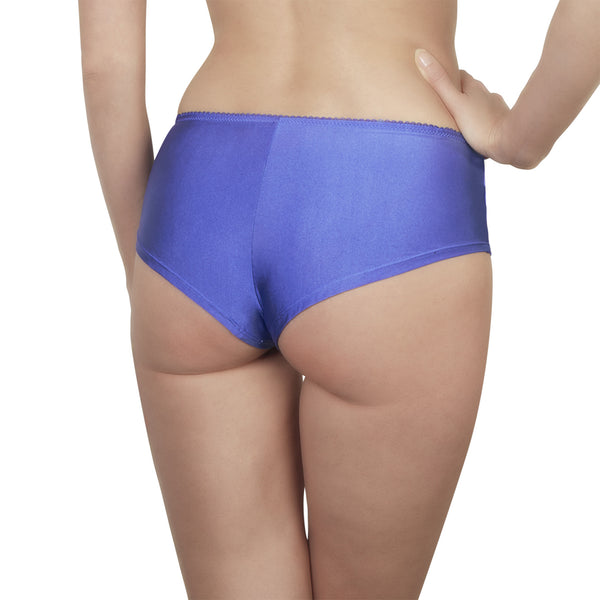 Rosy L'Honorable Shorty Brief in Bleu Honeymoon Lingerie Backview