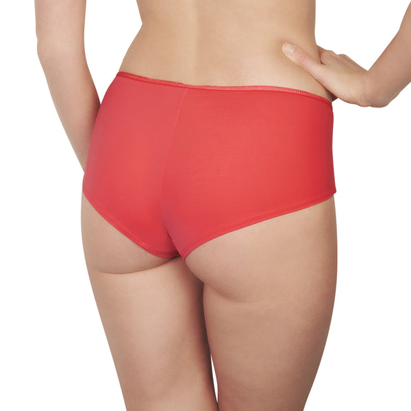 Rosy La Piquante Shorty Brief in Candy Honeymoon Lingerie Backview