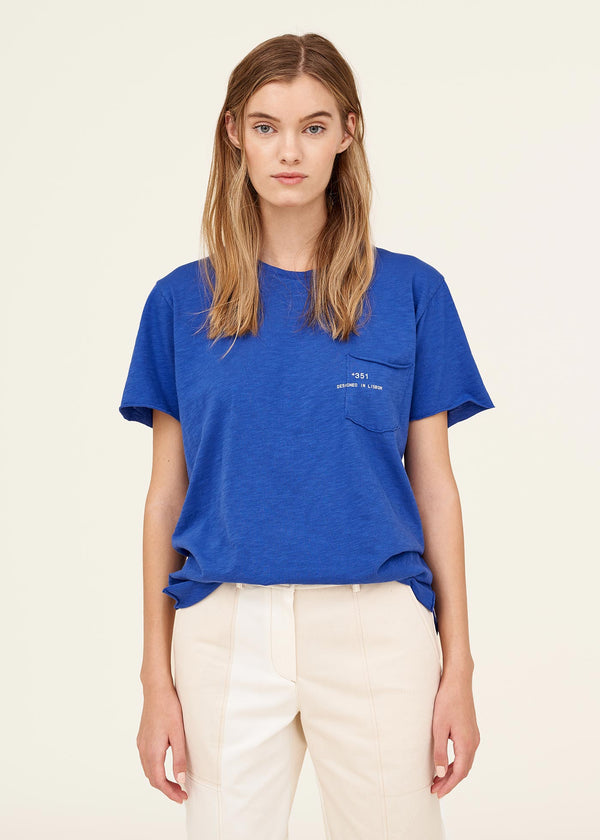 Essential Bright Blue Tee