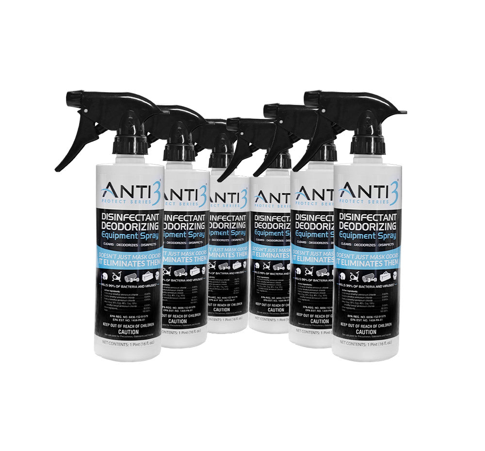 Disinfectant Spray 6 Pack