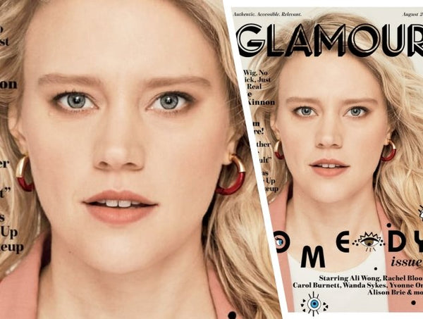 Kate McKinnon wears Lady Grey on the cover of Glamour Magazine