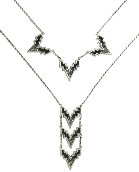 TRIPLE V NECKLACE / V TREX NECKLACE