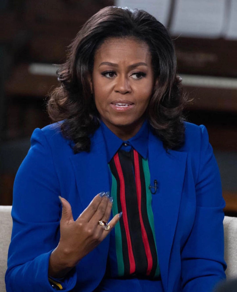 Michelle Obama wears Lady Grey Jewelry Fraction Ring