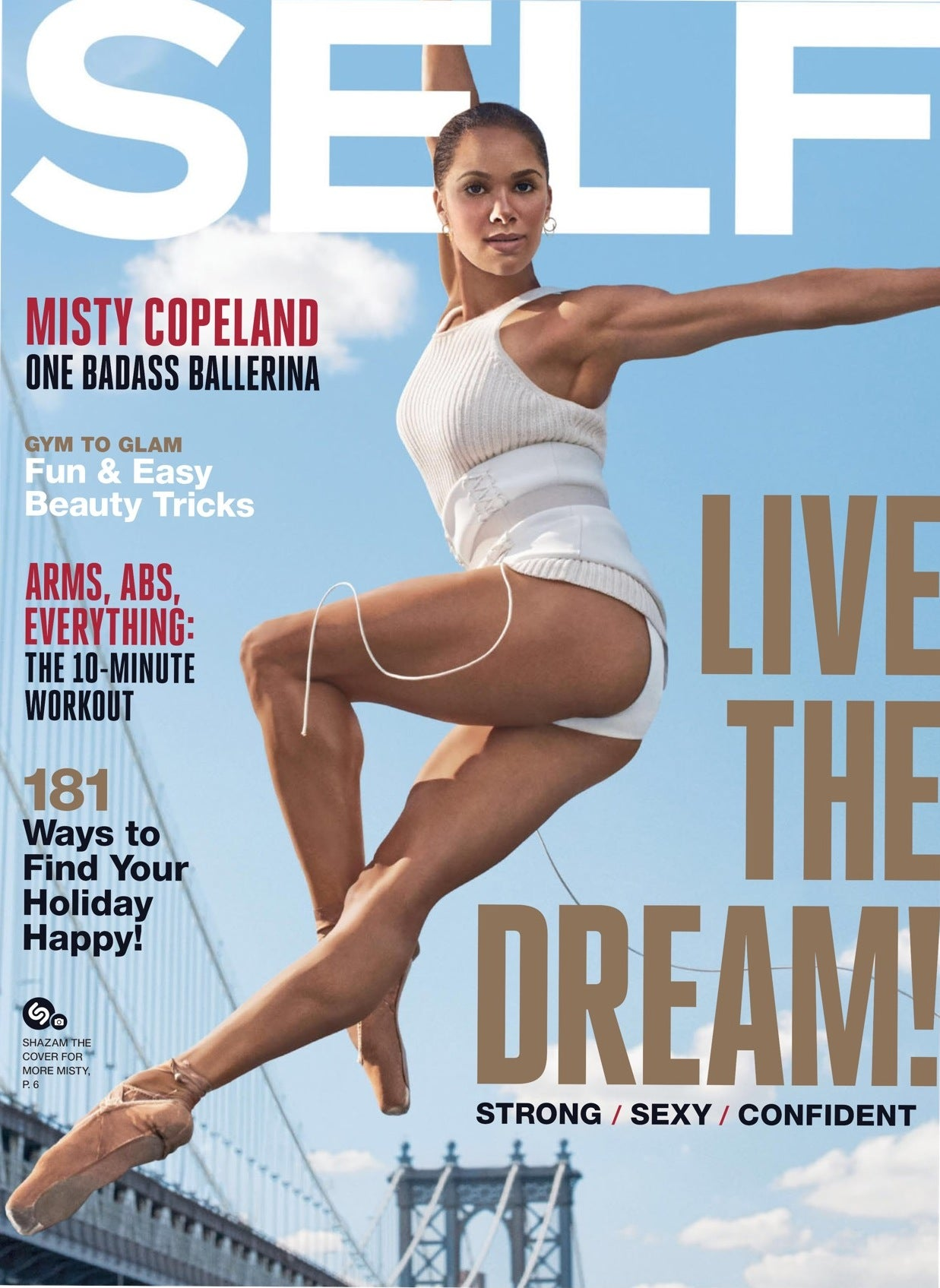 Misty Copeland in Lady Grey Jewelry Earrings