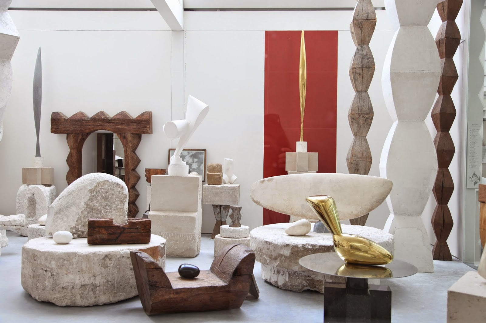 Cold and Gold- Brancusi Inspires | Lady Grey