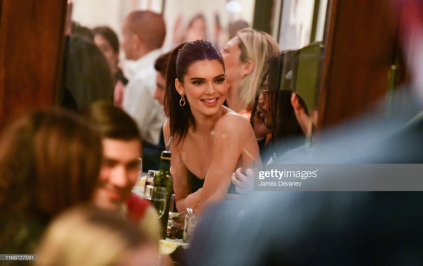 Kendall Jenner wearing Lady Grey Earrings Cipriani