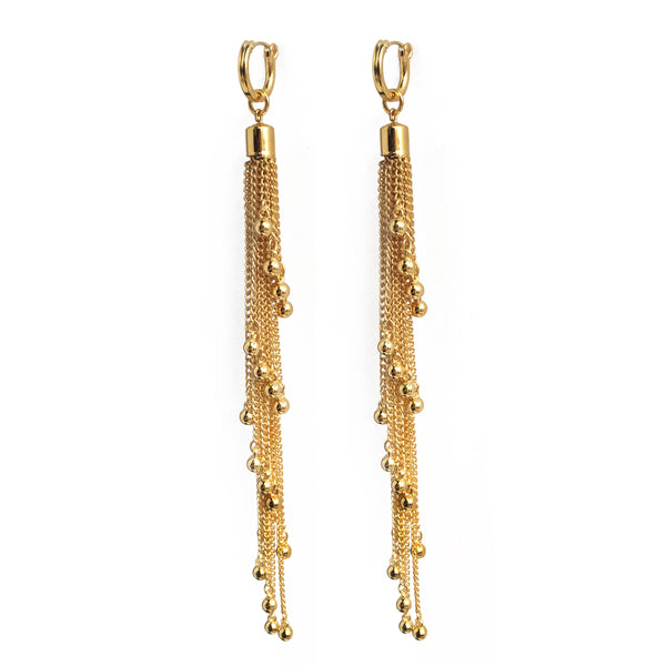 Cascade Earring in Gold