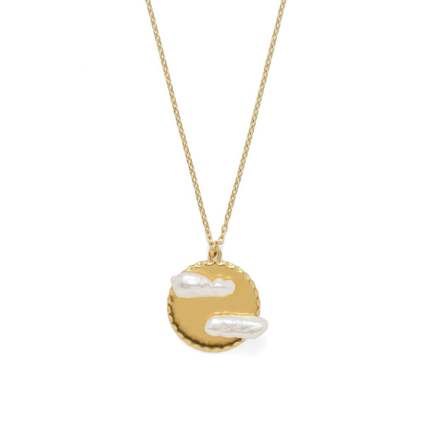 Cloud 9 Necklace in Gold