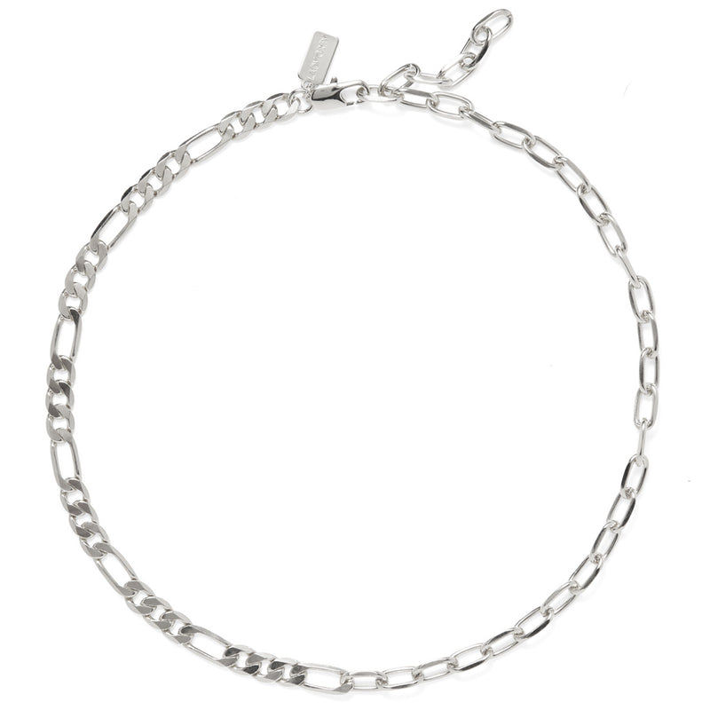 Lady Grey 50/50 Necklace in Silver