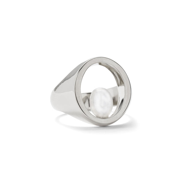 Balance Ring in Silver