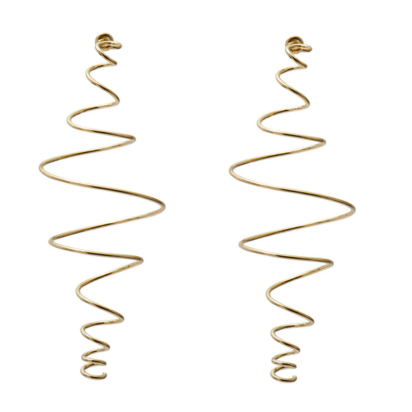 Coil Earring in Gold