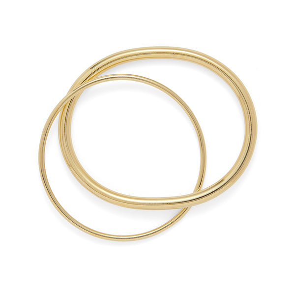 Oval Link Bracelet in Gold