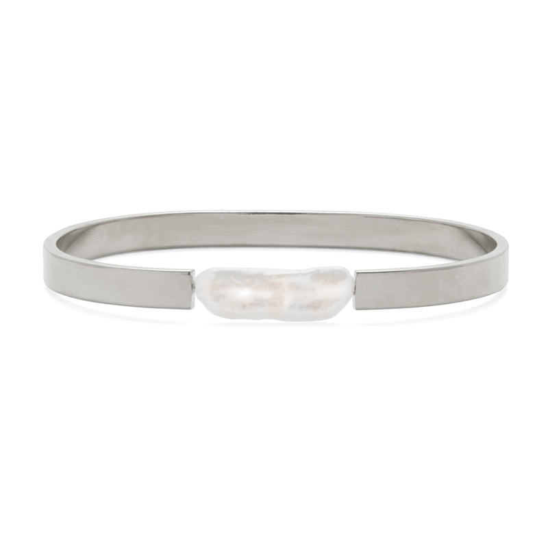 Lady Grey Jewelry Stratus Bracelet in Rhodium