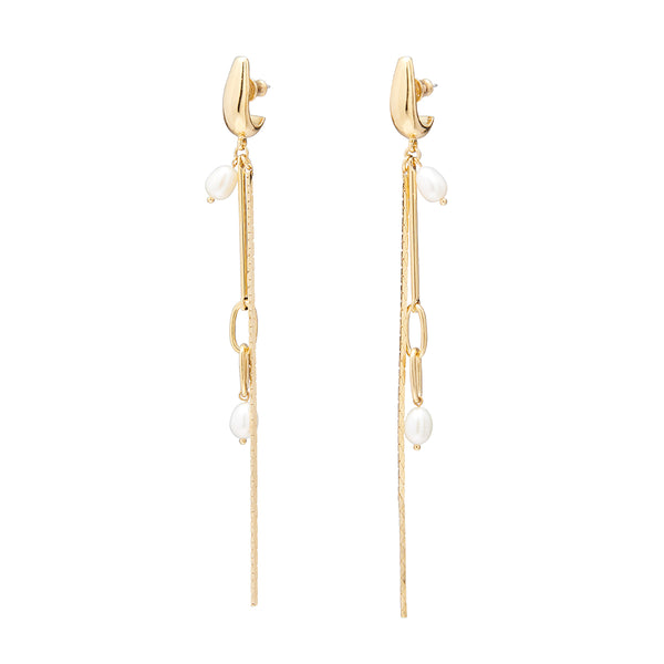 Lady Grey Synth Earring in Gold