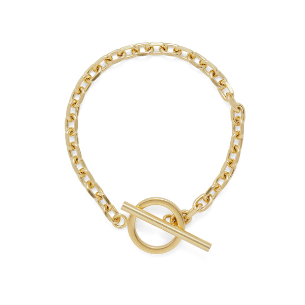 Toggle Bracelet in Gold