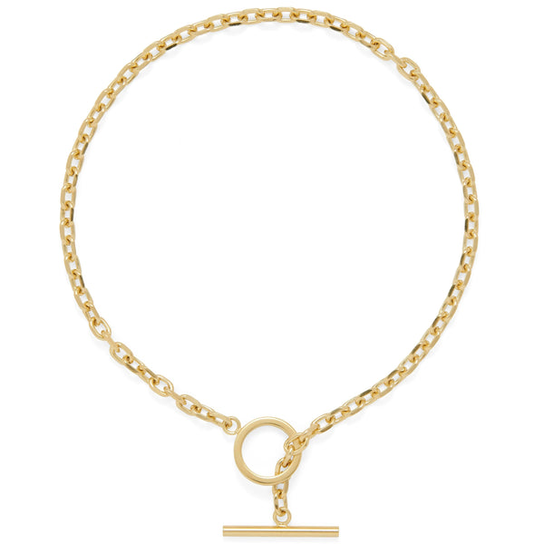 Toggle Necklace in Gold