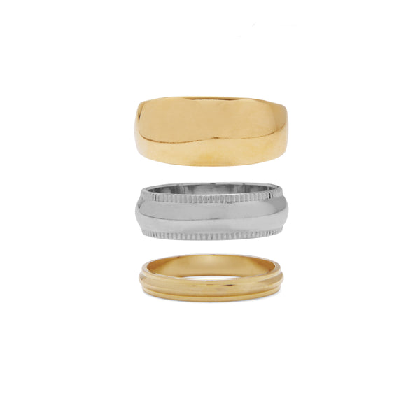 Trademark Ring Set