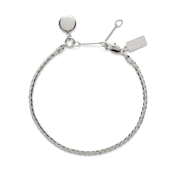 Locket Bracelet in Silver