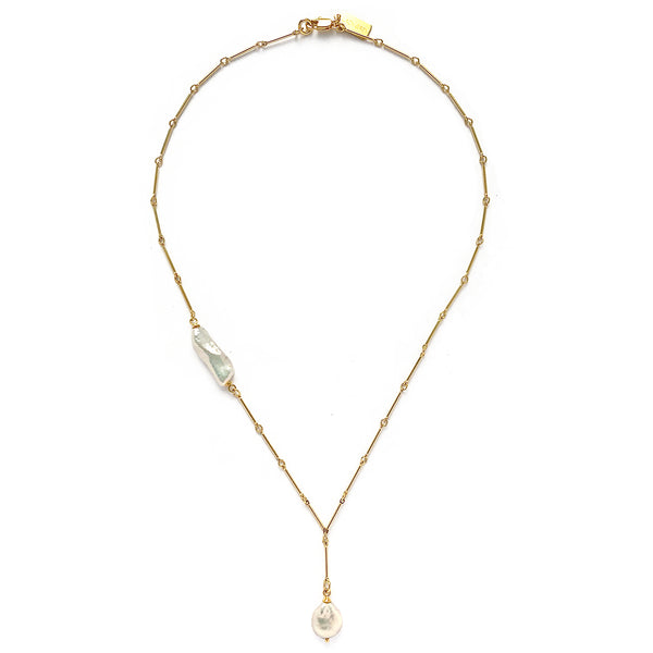 Stratus Necklace in Gold
