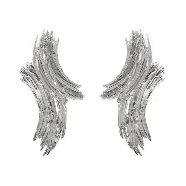 Alma Earring in Rhodium