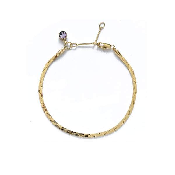 Cobra Bracelet/Anklet in Gold