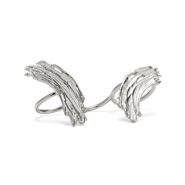Eva Ring in Rhodium