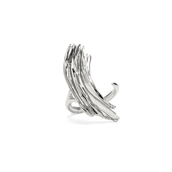 Frida Ring in Rhodium