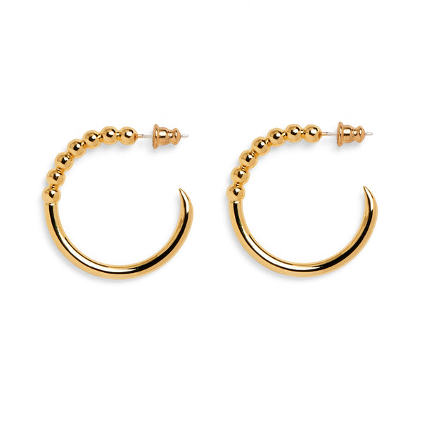 Ophidia Hoops in Gold