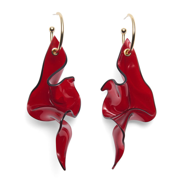 Careen Earring in Red