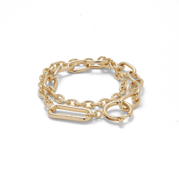 Varie Wrap Bracelet in Gold