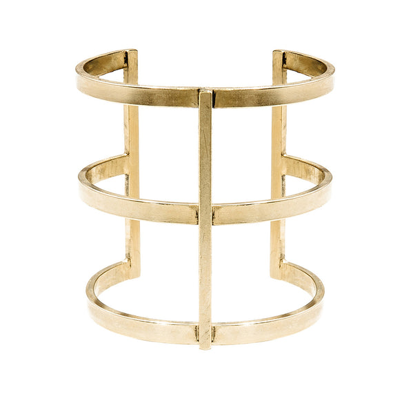 Arc Cuff in Gold