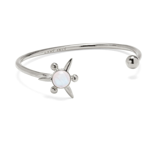 Astraea Bangle in Silver