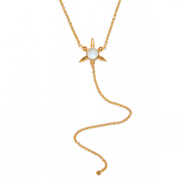 Astraea Lariat in Gold